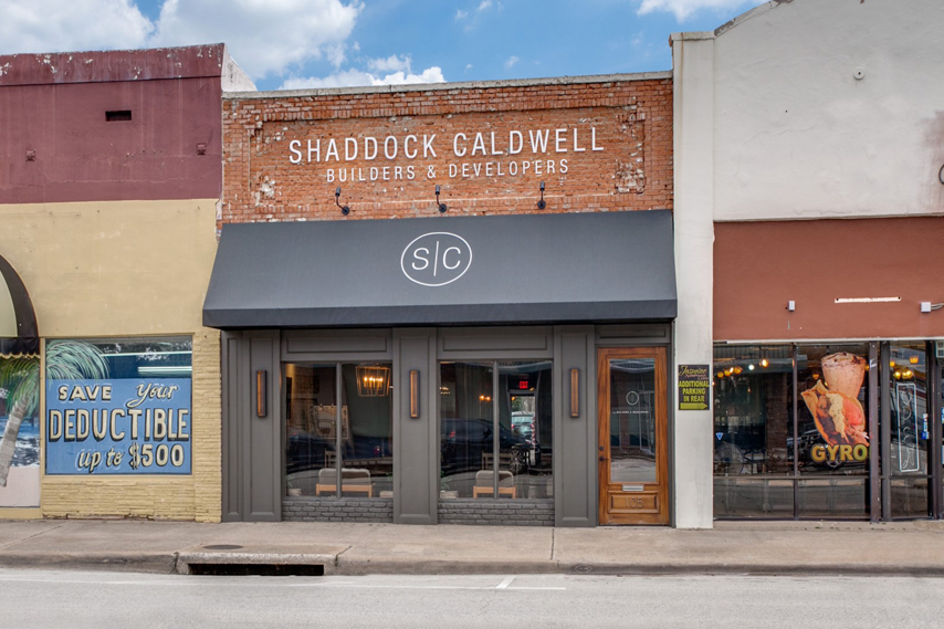 History of Shaddock Caldwell's Office